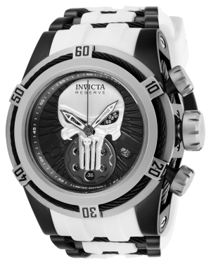 Invicta Marvel Limited Edition Punisher Mens Quartz Watch