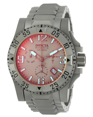 Invicta Reserve Excursion with Titanium Case and Dial Mens Quartz Watch