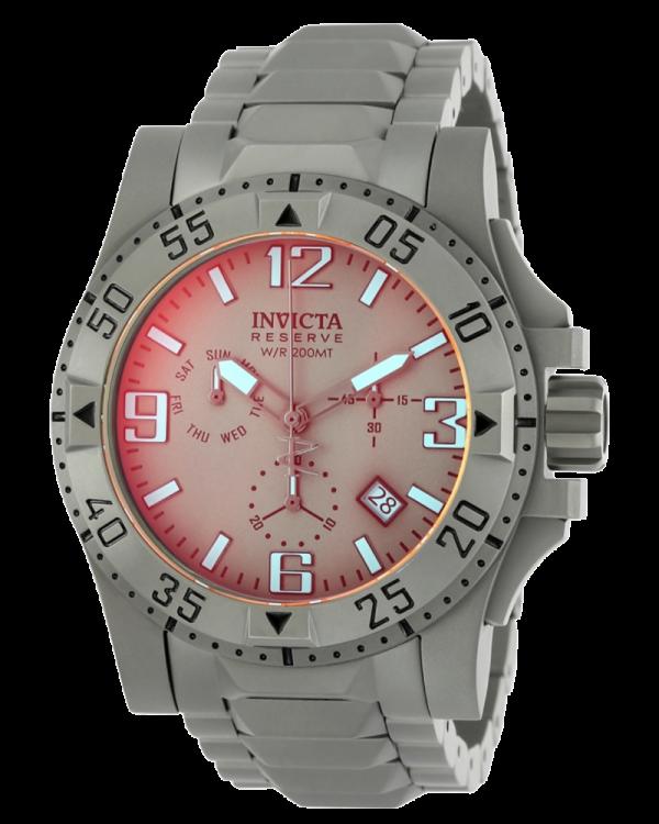 Invicta Reserve Excursion with Titanium Case and Dial Mens Quartz Watch