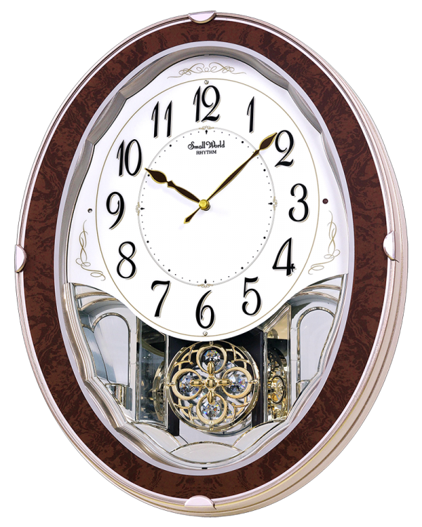 Rhythm Adore Musical Motion Wall Clock