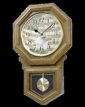 Rhythm American Patriot Wall Clock