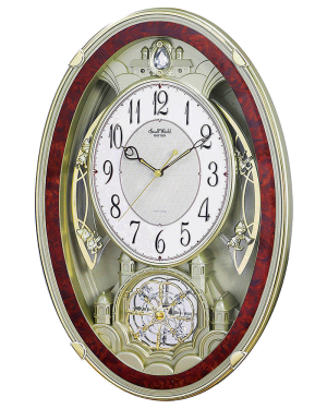 Rhythm Enchantment Musical Motion Wall Clock