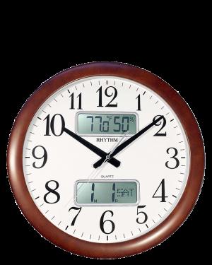 Rhythm Estado Digital Wall Clock