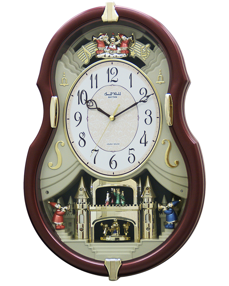 Rhythm Viola Entertainer II Musical Motion Clock