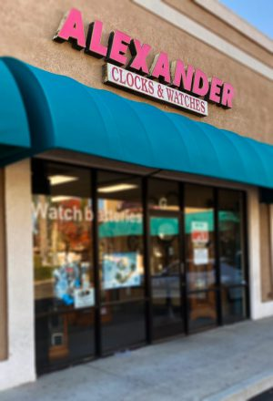 alexander clocks and watches storefront image