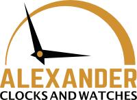 Alexander Clocks and Watches Logo