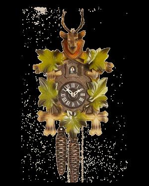 Hönes Five Leaves and Buck Hunter's Quarter Call Cuckoo Clock