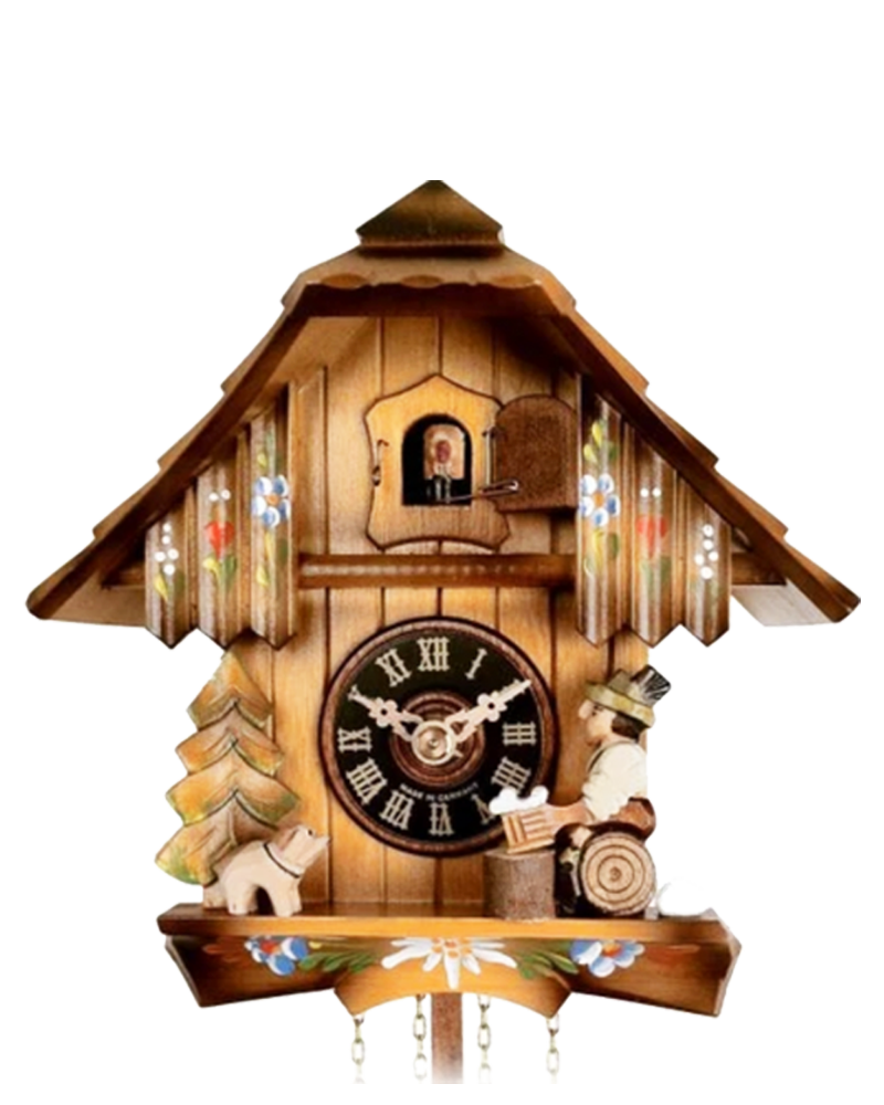 Engstler 1 Day Chalet Cuckoo Clock With Beer Drinker Alexander Clocks And Watches
