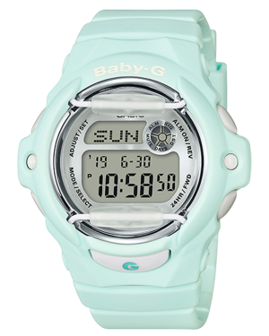 Casio-BG169R-3-Baby-G-Women's-Watch-Light-Mint-46mm-Resin