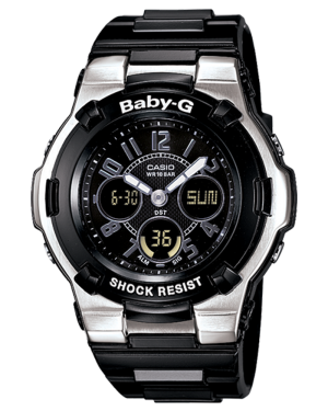 Casio-BGA110-1B2-Women's-Baby-G-Shock-Resistant-Black-Multi-Function-Sport-Watch