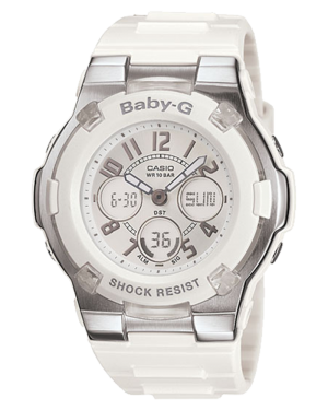 Casio-BGA110-7B-Women's-Baby-G-Shock-Resistant-White-Sport-Watch