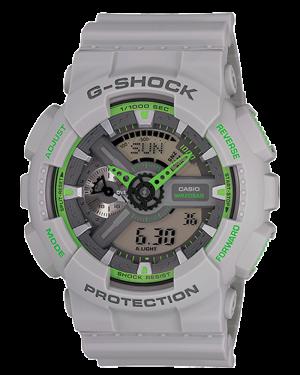 Casio-G-Shock-Grey-Analog-Digital-Watch-GA110TS-8A3