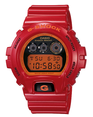 Casio-G-Shock-Red-Digital-Men's-Watch-DW6900CB-4