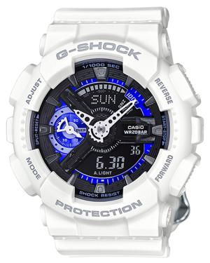 Casio-GMAS110CW7A3-G-Shock-Women's-Analog-Digital-S-Series-White-Bracelet-Watch