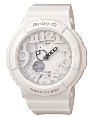 Casio-Women's-BGA131-7B2-Baby-G-Rose-Gold-and-White-Resin-Digital-Watch