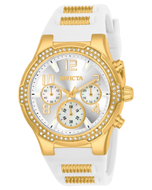 INVICTA-BLU-WOMENS-QUARTZ-39.5MM-GOLD-CASE-SILVER-DIAL-24199