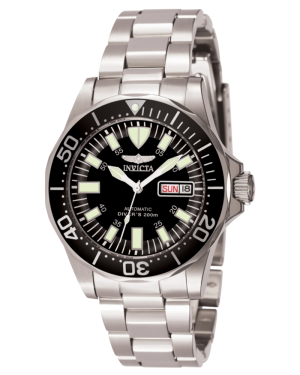 INVICTA-MENS-SIGNATURE-AUTOMATIC-WATCH-STAINLESS-STEEL-CASE-STAINLESS-STEEL-BAND-7041