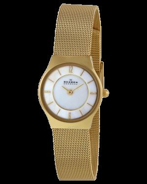 Skagen-Womens-233XSGG-Stainless-Steel-Watch