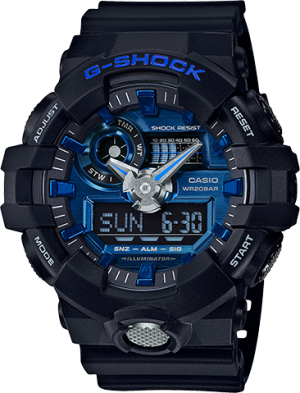 Casio GA710-1A2 G-Shock Standard Analog-Digital Men's Watch