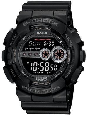 Casio G-Shock Digital Watch GD-100-1BCR