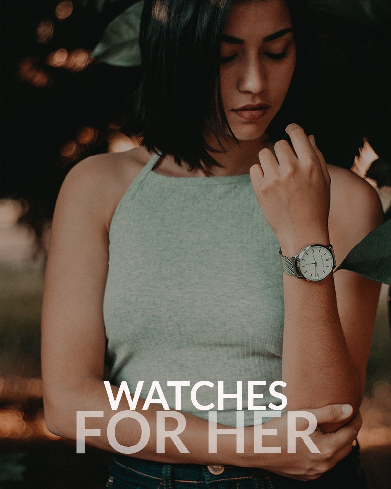 View our Womens watch collection.