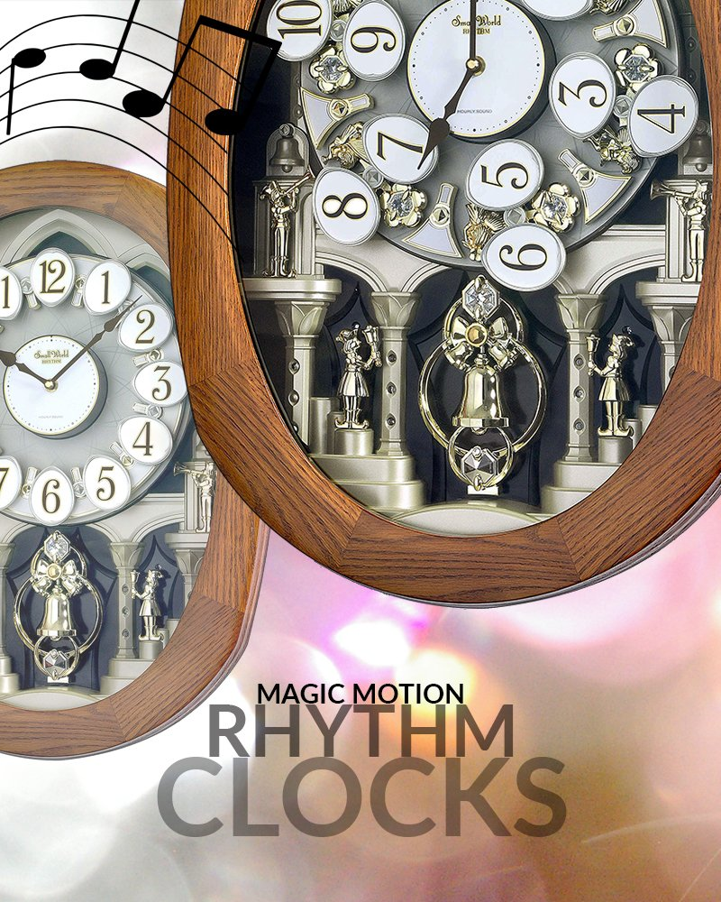 magical motion clocks
